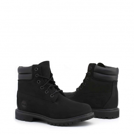 "TIMBERLAND 6"" Double Collar Boot Black1"