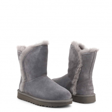 UGG Classic Short Fluff High-Low Boot Grey1