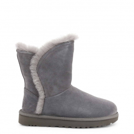 UGG Classic Short Fluff High-Low Boot Grey0