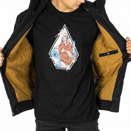 VOLCOM HERNAN COASTER 5K JACKET BLACK2