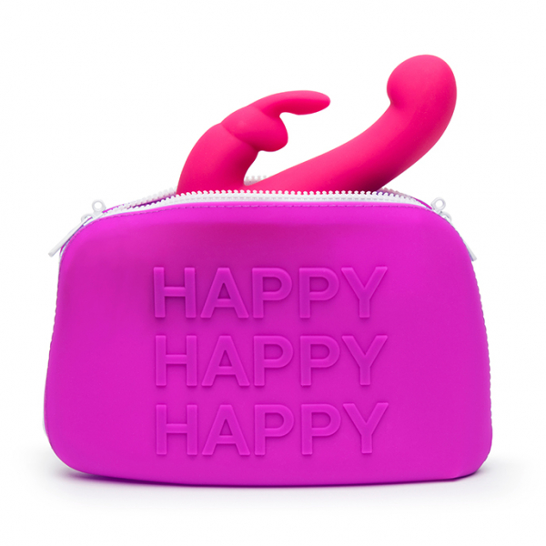 Happy Rabbit - HAPPY Storage Zip Bag Large Pink