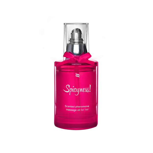 Scented Pheromone Massage Oil for Her Spicy 100 ml 0