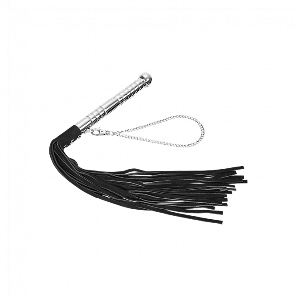 Leather Flogger Alu Handle 1
