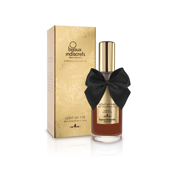 Ulei Masaj Erotic Warming Chocolate 100 ml 3
