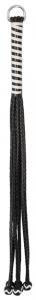 Leather Flogger with Balls 54 cm3