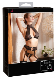 Superb Suspender Set by Abierta Fina4
