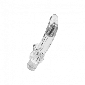 Vibrator Transparent Viking Waterproof 23 cm