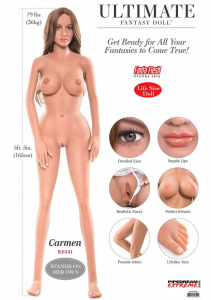 Ultimate Fantasy Dolls Carmen