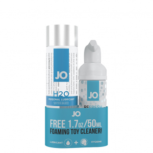 H2O Lubricant 120 ml & FREE Toy Cleaner 50 ml