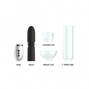 Thruster - 4 in 1 Rechargeable Couples Pump Kit - Black2