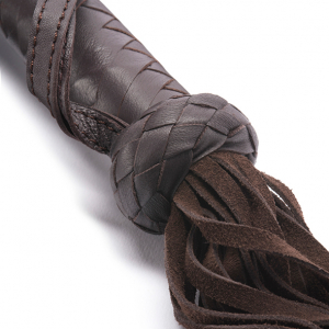 LEATHER FLOGGER BROWN