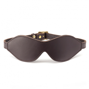 Coco de Mer - Leather Blindfold Brown0