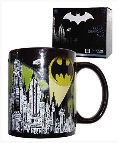 Set costum clasic  Batman, DC  Comics  pentru copii si cana termosensibila  Batman, M, 5 - 6 ani 4