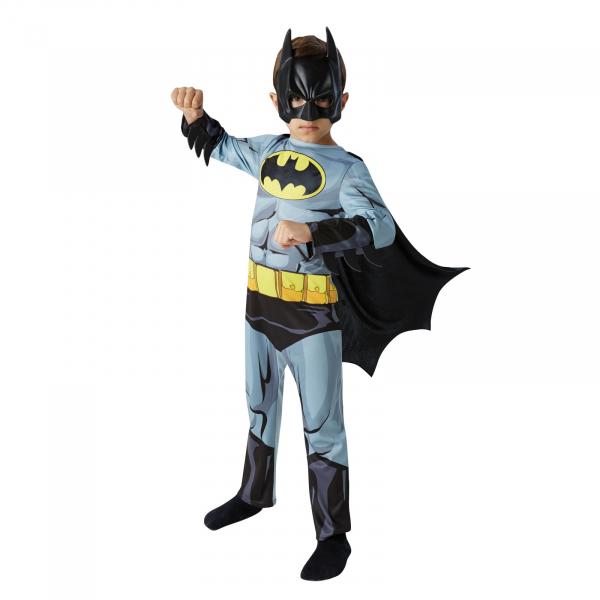 Set costum clasic  Batman, DC  Comics  pentru copii si cana termosensibila  Batman, M, 5 - 6 ani 1