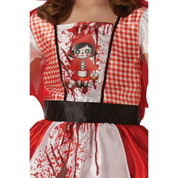 Costum de carnaval copii, Scufita Rosie, 4 - 6 ani 1