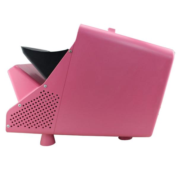 Masina de facut baloane, 100w, capacitate 2.5L, roz, cu telecomanda, lichid cadou 4