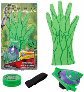Manusa Hulk pentru copii cu discuri2