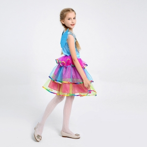Costum Rainbow Dash,  My Little Pony, copii, marime S, 110 cm1