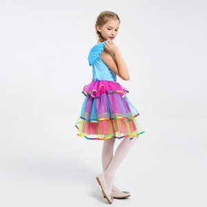 Costum Rainbow Dash,  My Little Pony, copii, marime S, 110 cm2