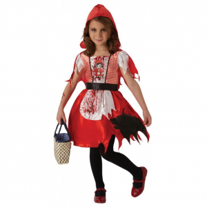 Costum de carnaval copii, Scufita Rosie, 4 - 6 ani0