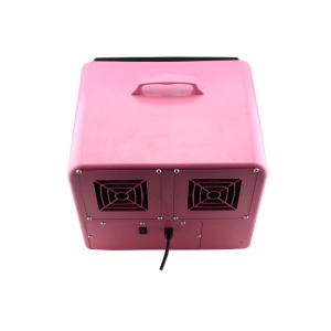 Masina de facut baloane, 100w, capacitate 2.5L, roz, cu telecomanda, lichid cadou5