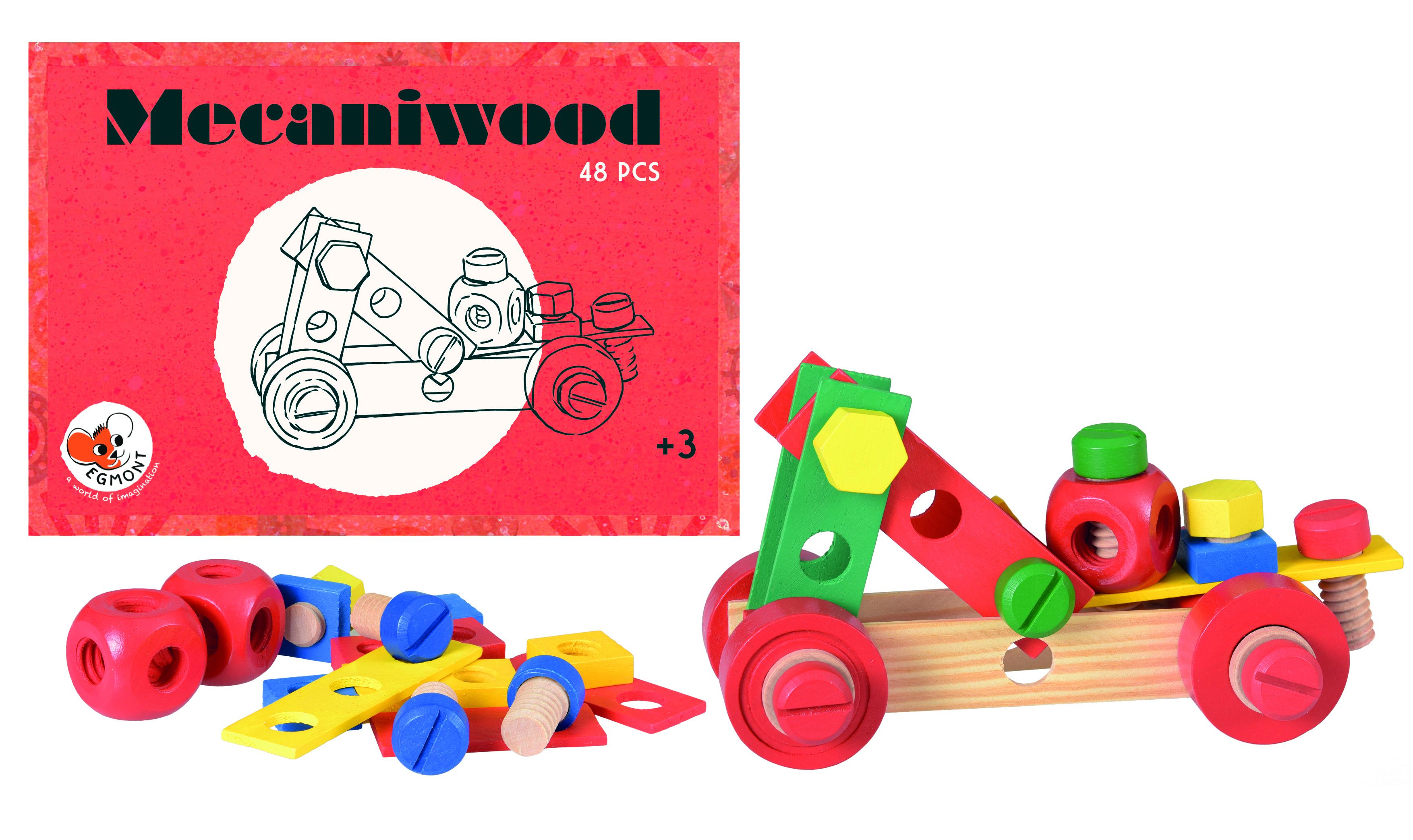 Mecaniwood Egmont, set 48 piese [0]