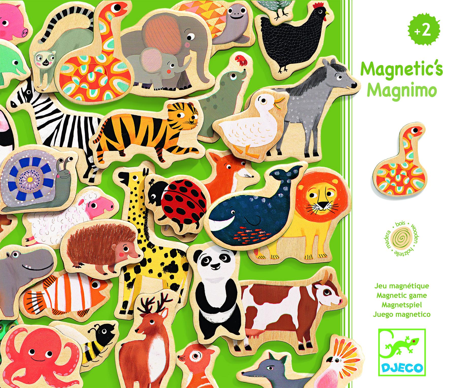 Joc magnetic cu animale Djeco 0