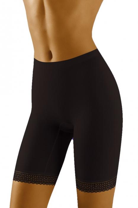Pantaloni scurti Rona cu efect modelator Negru [0]