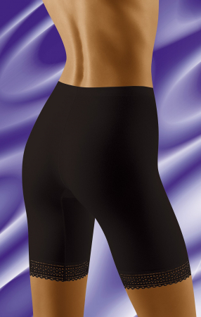 Pantaloni scurti Rona cu efect modelator Negru [1]