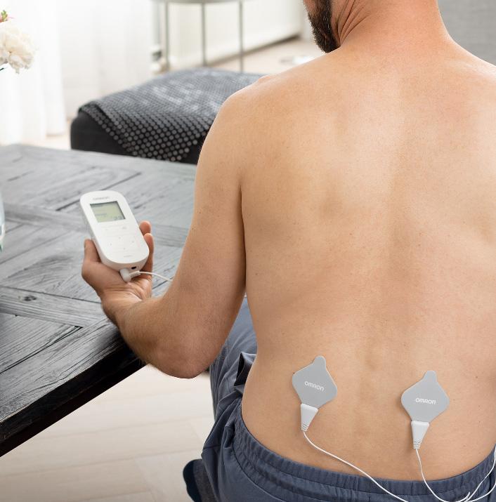 Electrostimulator-muscular-Omron-HeatTens-TENS-pozitionare-paduri