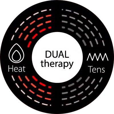 Electrostimulator-muscular-Omron-HeatTens-TENS-terapie-duala