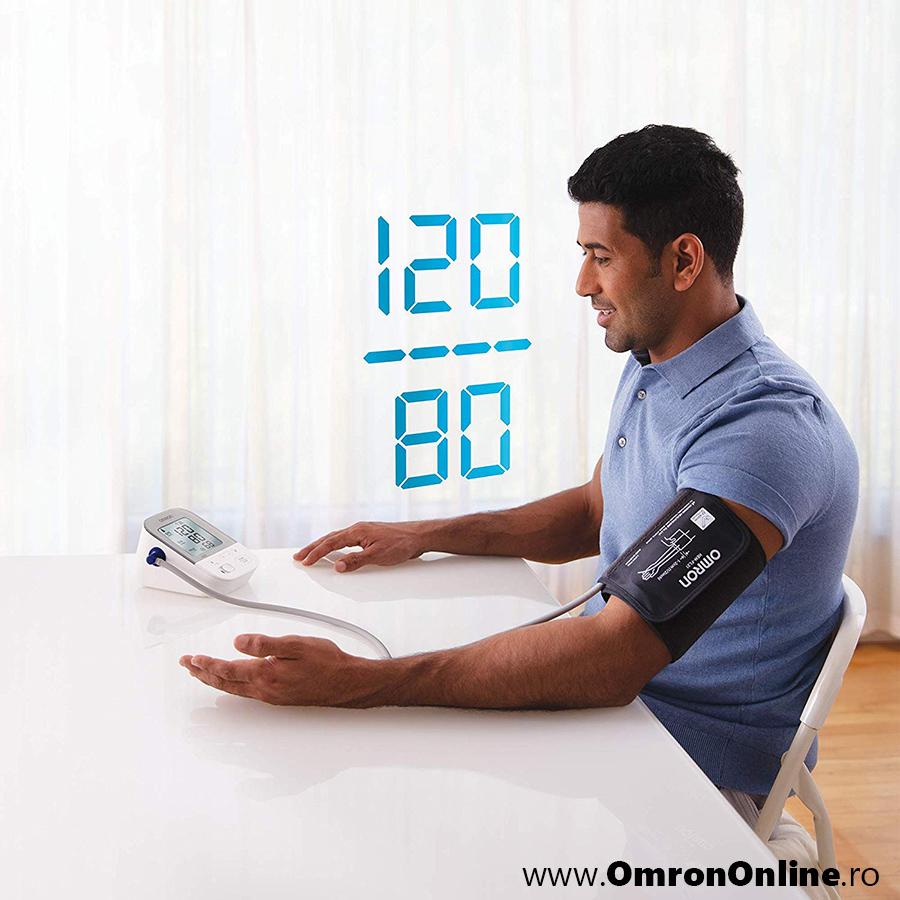 Tensiometru-OMRON-X4-Smart-brat-tensiune-arteriala