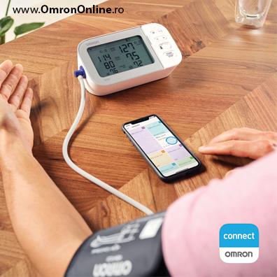 Tensiometru-OMRON-X7-smart-transfer-date-smartphone