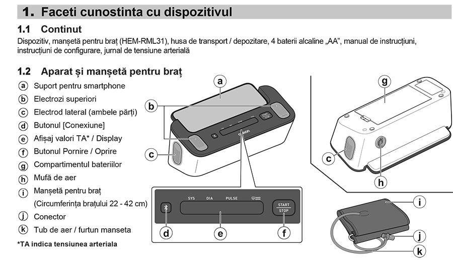 OMRON-COMPLETE-TENSIOMETRU-electronic-prezentare