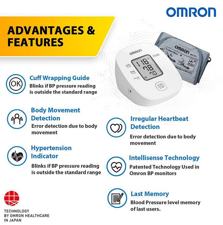 tensiometru-digital-brat-OMRON-M2-basic-functii