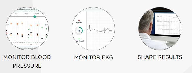 TENSIOMETRU-OMRON-COMPLETE-ECG-ekg-functii