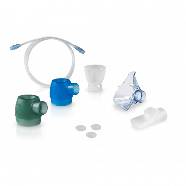 Kit accesorii nebulizator Omron DuoBaby (piese superioare, fluturas, masti, piesa gura, furtun, filtre) [0]