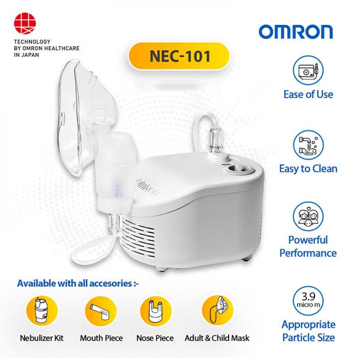 Aparat aerosoli Omron C101 Essential, cu compresor, fabricat in Italia [6]