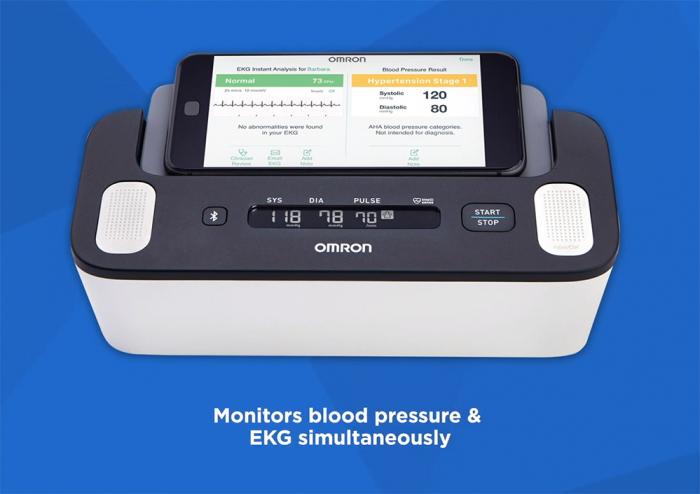 Omron Complete - Tensiometru automat pentru brat + ECG, validat clinic, functie AFIB, fabricat in Japonia [3]