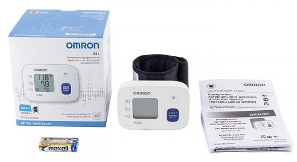 OMRON RS1 - Tensiometru de incheietura, validat clinic (model nou) [6]