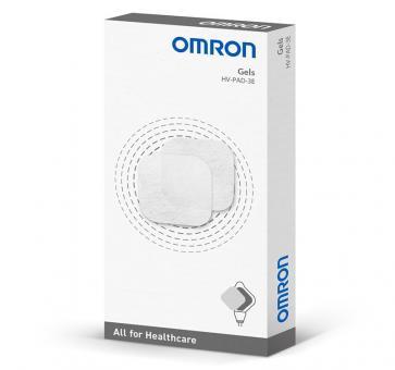 Paduri (electrozi) Omron cu gel pentru electrostimulator muscular OMRON HeatTens, 4 seturi (8 paduri), fabricate in Japonia, HV-PAD-3E [0]