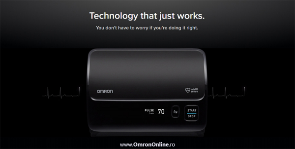 Tensiometru Omron EVOLV digital de brat, manseta inteligenta 22-42 cm, transfer date Bluetooth, fara cabluri, validat clinic, ecran OLED, fabricat in Japonia [7]