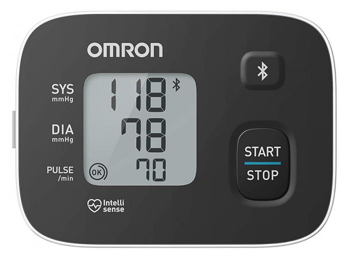 OMRON RS3 Intelli IT - Tensiometru de incheietura, transfer date Bluetooth, validat clinic [3]