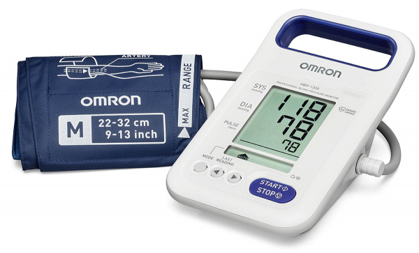 Tensiometru profesional portabil OMRON HBP-1320, cu acumulator, validat clinic [2]