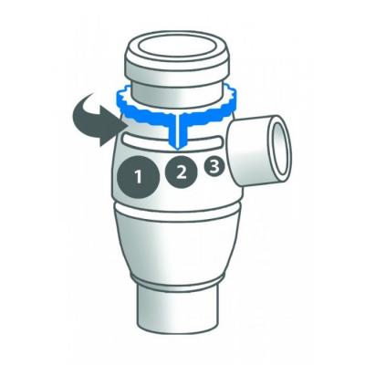 Kit accesorii pentru aerosol Omron A3 Complete (kit VVT, masti, piese nas + gura, furtun, fluturas) [3]