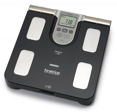 ANALIZOR CORPORAL (BODY FAT MONITOR) OMRON BF508, VALIDAT CLINIC, 3 ANI GARANTIE [1]