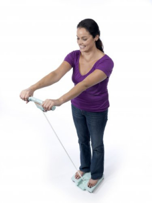 Analizor corporal si cantar electronic OMRON BF511 (Body Fat monitor), 3 ani garantie, analiza cu 8 SENZORI [7]