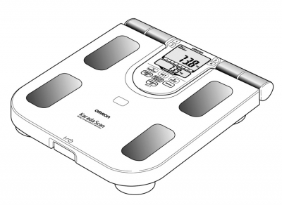 Analizor corporal si cantar electronic OMRON BF511 (Body Fat monitor), 3 ani garantie, analiza cu 8 SENZORI [3]