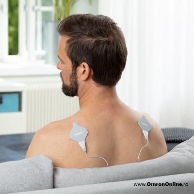 Electrostimulator muscular Omron HeatTens, TENS + HEAT (terapie prin caldura), baterie reincarcabila, 3 ani garantie, pentru ameliorarea durerii articulare si musculare [6]