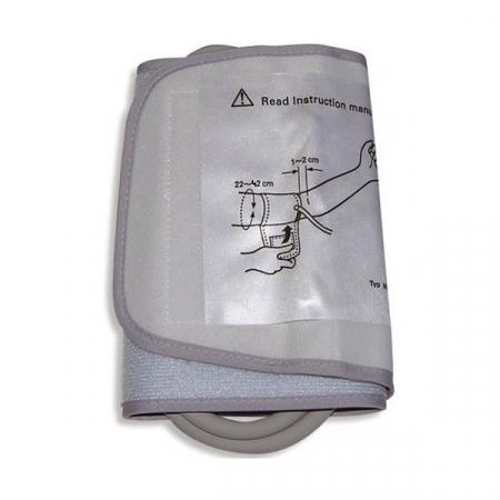Manseta Omron Wide Cuff L (22-42 cm) HEM-RML30 pentru tensiometrele compatibile [2]